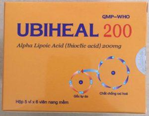 Hình ảnh thuốc Ubiheal 200